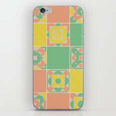 Summer Colors Grandmother's Quilt iPhone & iPod Skin