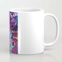 CRAZY BIRDS AND CRAZY FLOWERS Coffee Mug