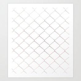 GALATHI Safety Fence Art Print