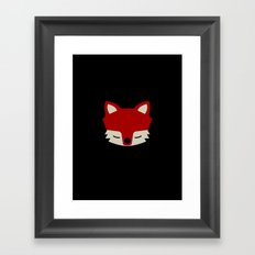 That Sly Fox  Framed Art Print
