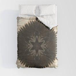 Quartz and Feather // Visionary Art Consciousness Meditation Star Life Peace Love Sacred Comforters