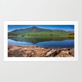 Killary Harbour fjord in Northern Connemara, Ireland Art Print