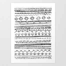 Take Me to the Tribe Art Print