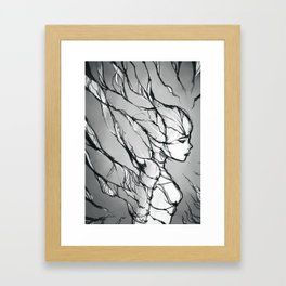 Vines Framed Art Print