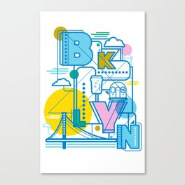 BKLYN Canvas Print