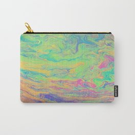 Retro Rainbow Carry-All Pouch