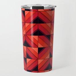 Fake wood pattern Travel Mug