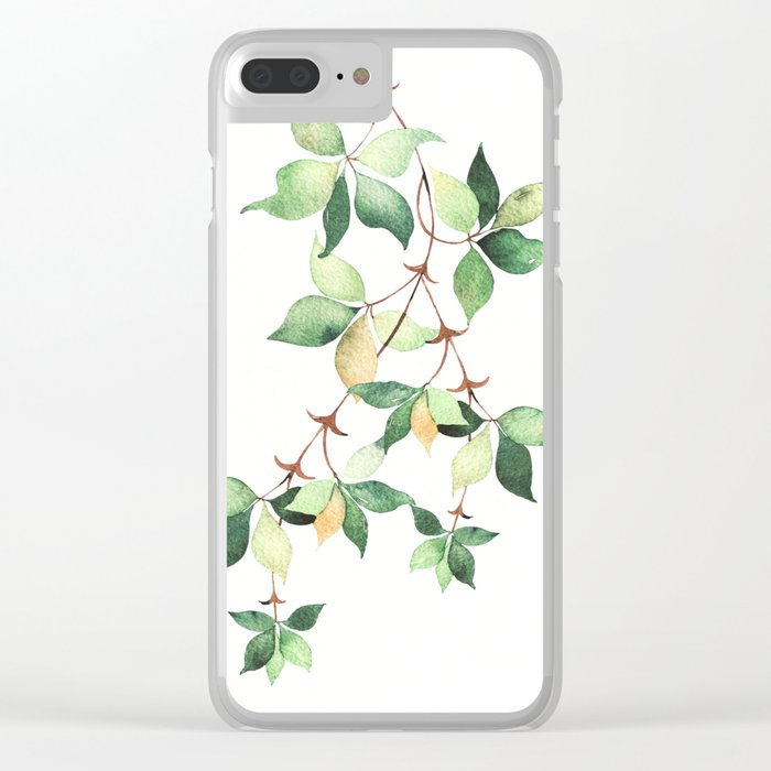 Tree Branch Clear iPhone Case