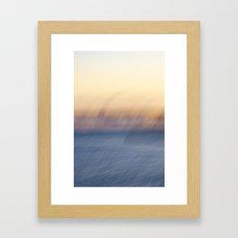 Sunset Ghosts Framed Art Print