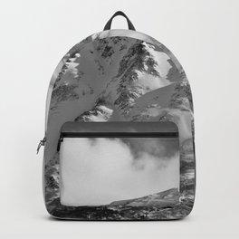 Snowy Alaskan Mountain - 2 Backpack