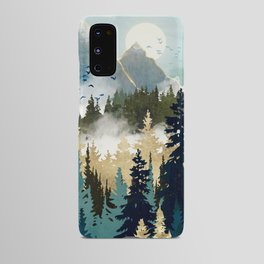 Misty Pines Android Case