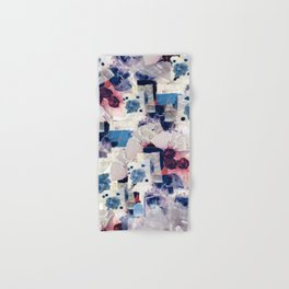 patchy collage Hand & Bath Towel