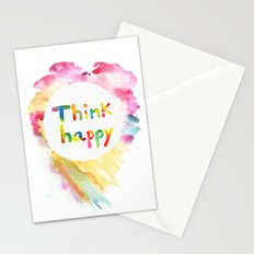 Think Happy Stationery Cards