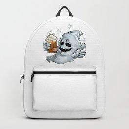 Drunk Ghost Halloween Backpack