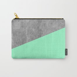 Geometry 101 Mint Meringue Carry-All Pouch