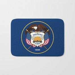 Utah State Flag - Authentic Version Bath Mat
