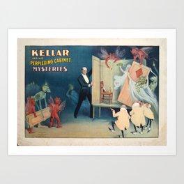 Kellar cabinet Art Print