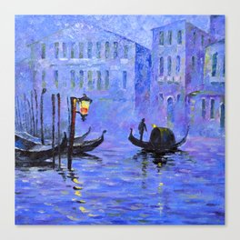Lilac Night Canvas Print