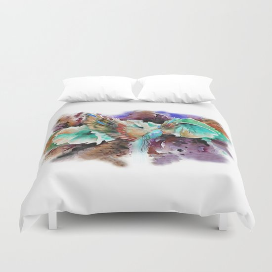 I Want to fly like it Duvet Cover