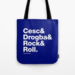 Cesc&Drogba&RocknRoll Tote Bag