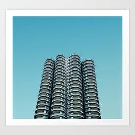 Wilco towers Art Print