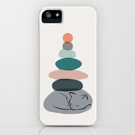 Cat Landscape 58 iPhone Case