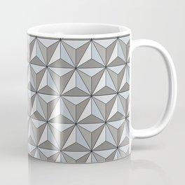 Geo Spaceship Earth Coffee Mug
