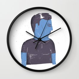 Grumpy guy Wall Clock