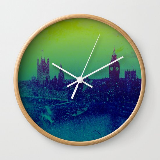 It's cold, but not gray Wall Clock