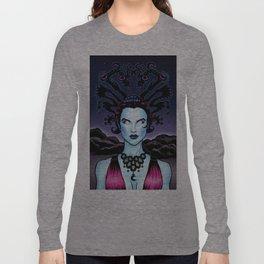 Female Space Alien  Long Sleeve T-shirt