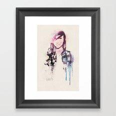 Poxleitner LiGHTS ver.2 Framed Art Print