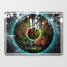 THIS IS NOT A PARADISE Canvas Print