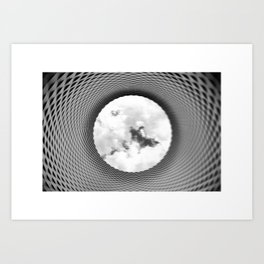 Tunnel to heaven Art Print