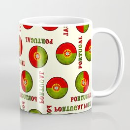 Portugal flag pattern Coffee Mug