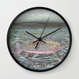 Yellowstone Cutthroat Trout Wall Clock