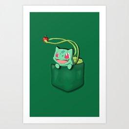 Bulba in the Poket Art Print