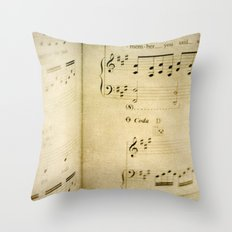 Passions Unsung  Throw Pillow