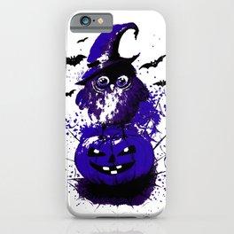 Halloween art print iPhone Case