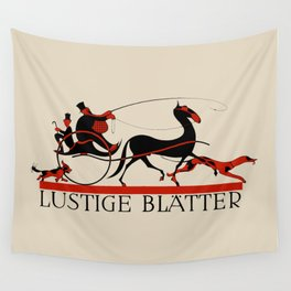 Lustige Blaetter (Funny pages) Wall Tapestry