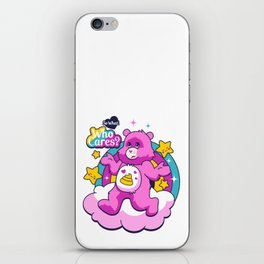 Who cares? Bear iPhone Skin