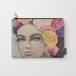 Flower Power by Andrea Carry-All Pouch