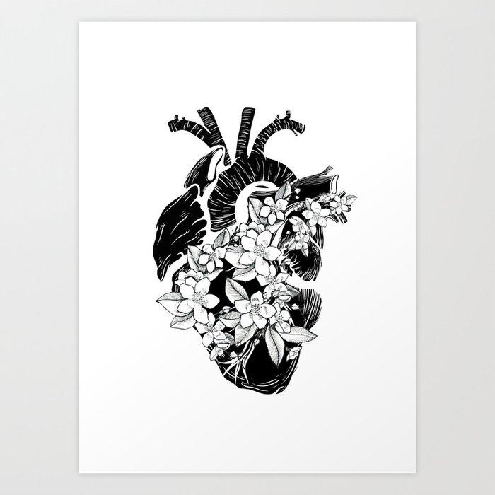 Heart 2 Kunstdrucke