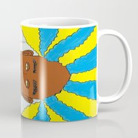rasta Mugs featuring rasta by Sproot