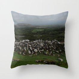 The Irish Wild West (County Clare) Throw Pillow