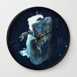 Sitting by the Stars Wall Clock