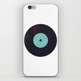 Vinyl Record Star Sign Art | Pisces iPhone Skin
