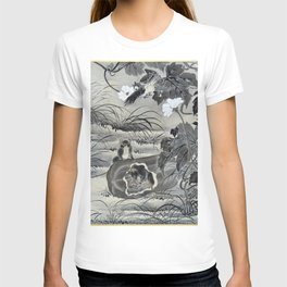 12,000pixel-500dpi - Kawanabe Kyosai - Mouse In A Melon - Digital Remastered Edition T-shirt