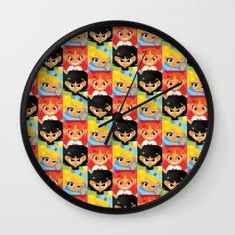 Powerful Cuties Wall Clock