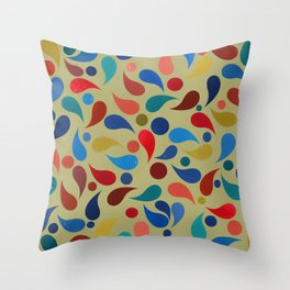 Abstract Composition 386 Throw Pillow