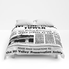 Save the Clock Tower Comforters